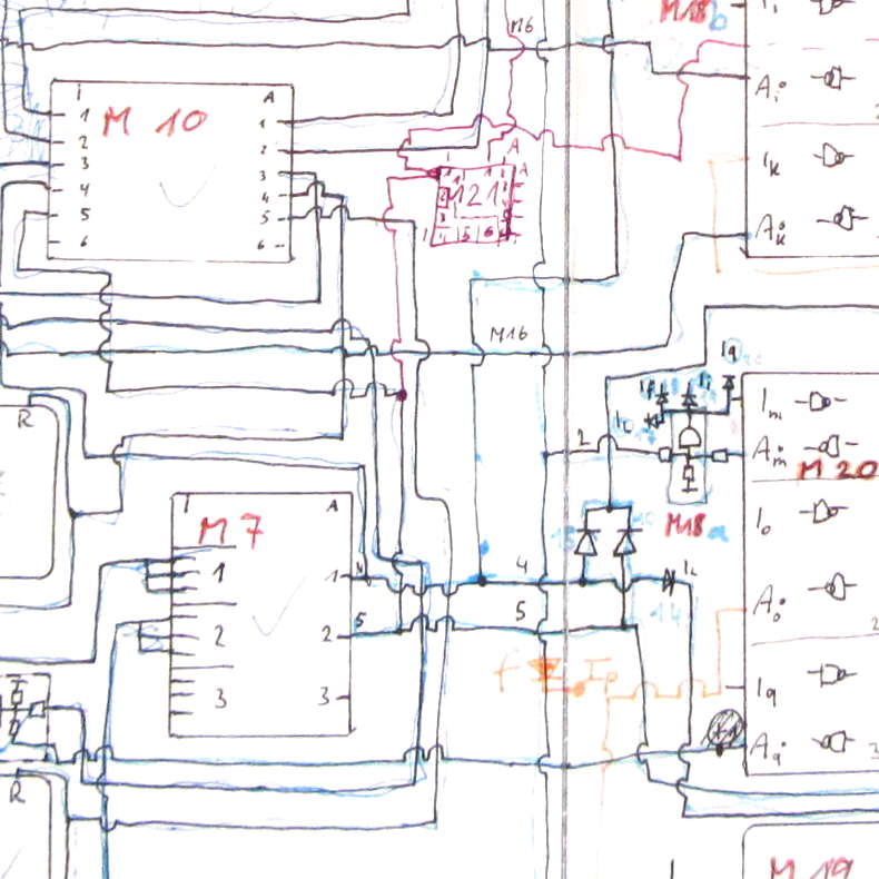 schematic CMOS logic