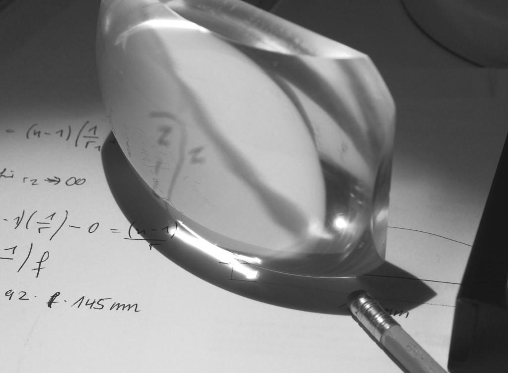 Berechning der Linse