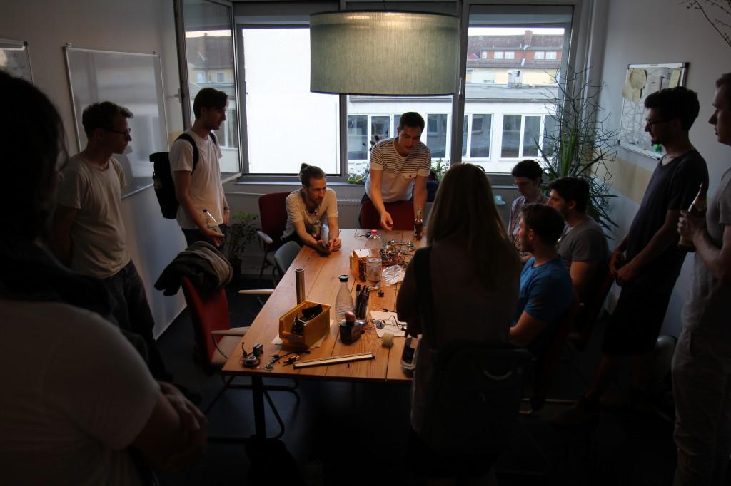 retune studio visit: BLDC