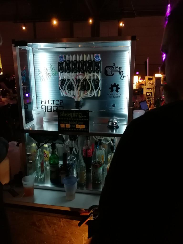 Cocktail Mixing Roboter 36C3
